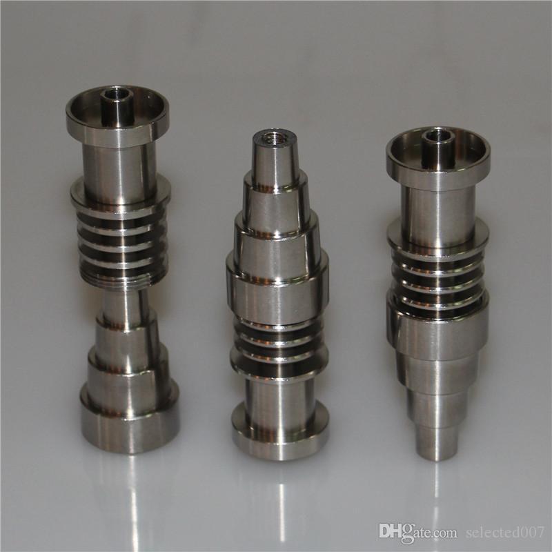 Titanyum Tırnak Ayarlanabilir Kubbeli 10mm 14mm 18mm Erkek Kadın Titanyum Çivi 16mm Tırnak Bobin Için, yüksek Kaliteli Yağ ...
