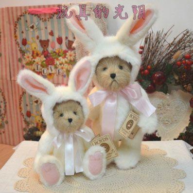 2018 35cm 40cm white teddy bear rabbit plush toy stuffed mini joint