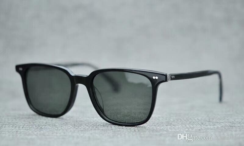 1eaaa051086 2018 OV5316SU star Retro-vintage sunglasses super-light square frame unisex  polarized sunglasses 53-20-145 pure-plank with full-set packing