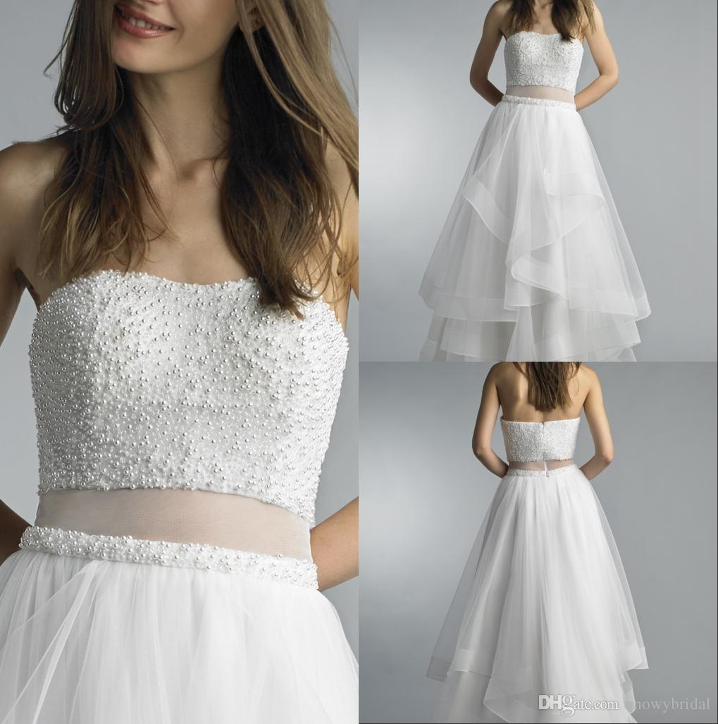 Ivory Formal Evening Dresses 2018 Sweetheart Pearls Elegant Women ...