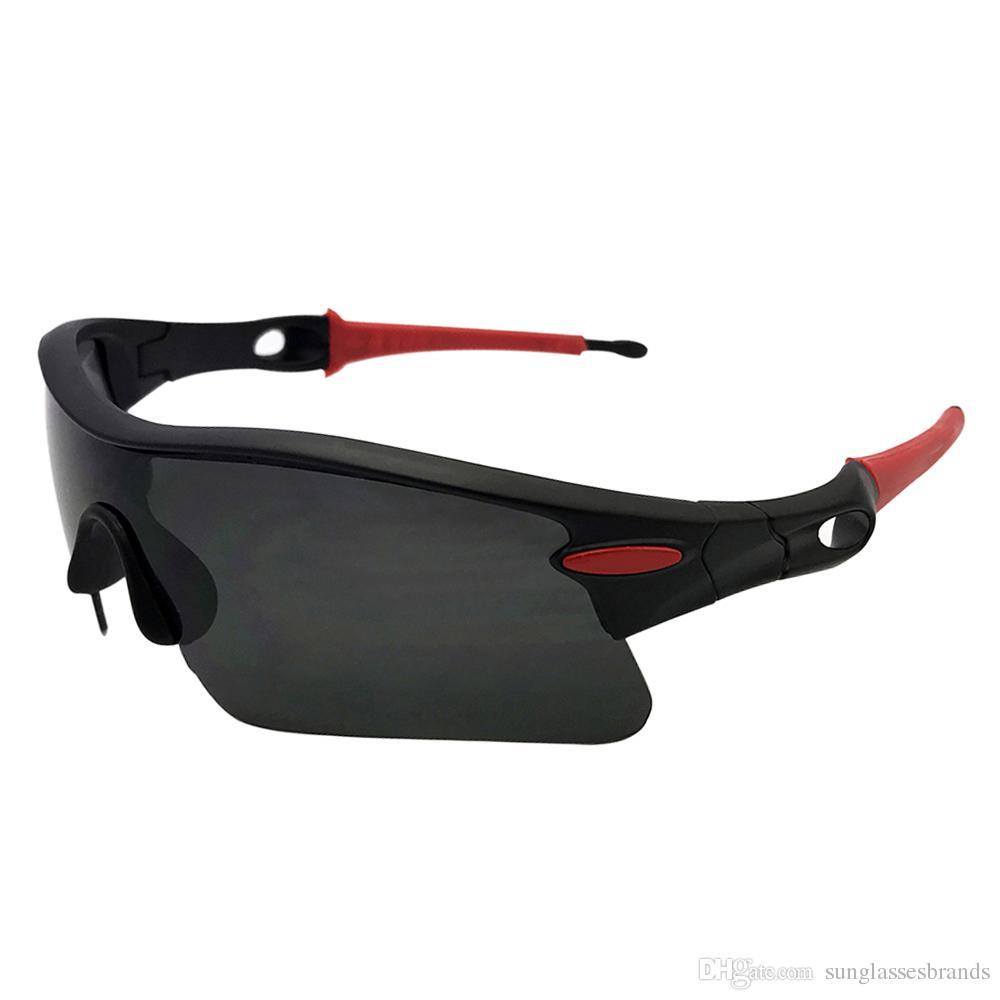 ee824706d7828 Compre Top Designer OO9206 Polido Óculos De Sol Caminho CA Olimpíadas Preto    Cinza Lente Man Driving O Eyewear Frete Grátis Ok18 De Sunglassesbrands