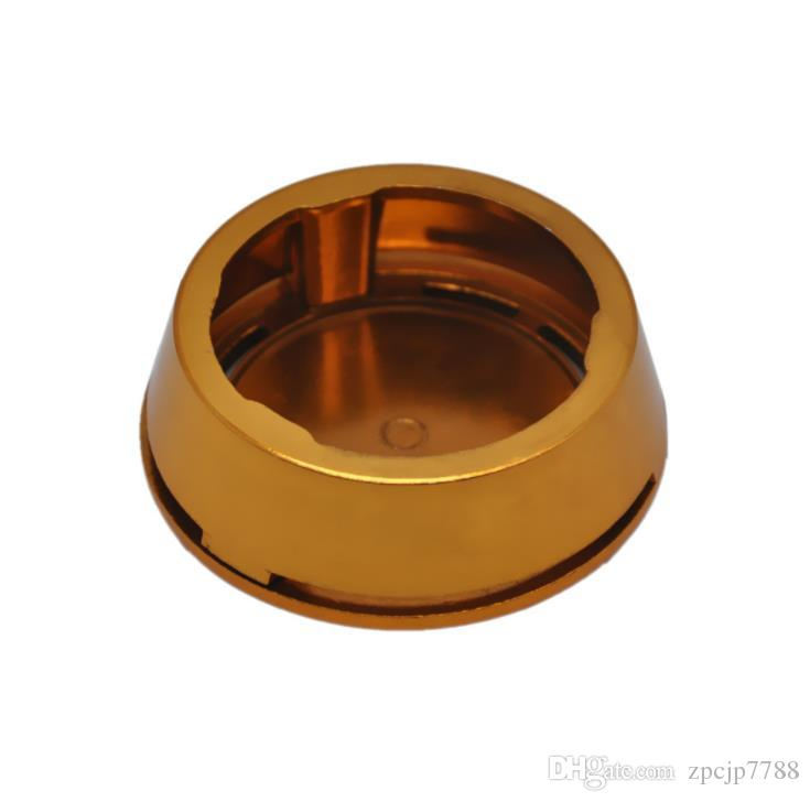 2018 new type of hookah carbon stove fittings, local Hao gold carbon furnace, hookah accessories gold.