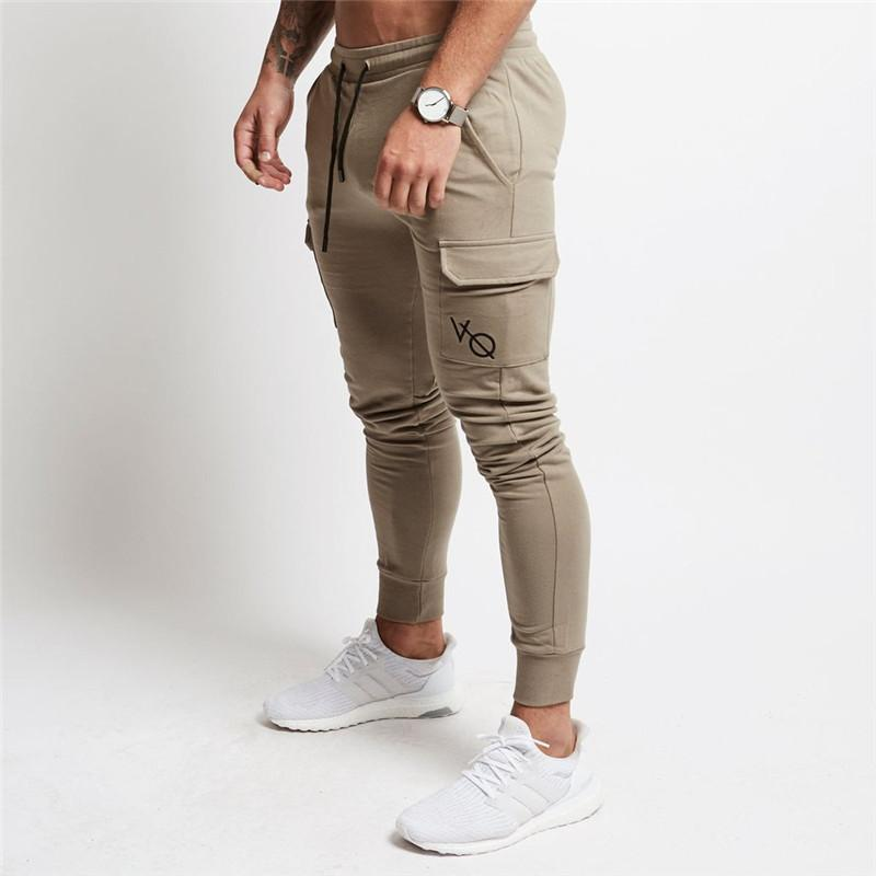 97a902526b76 2019 Jogging Pants Men Fitness Joggers Running Training Pants With Pocket  Soccer Sweatpants Gym Leggings Sport Tights Men Trousers From Mangosteeng