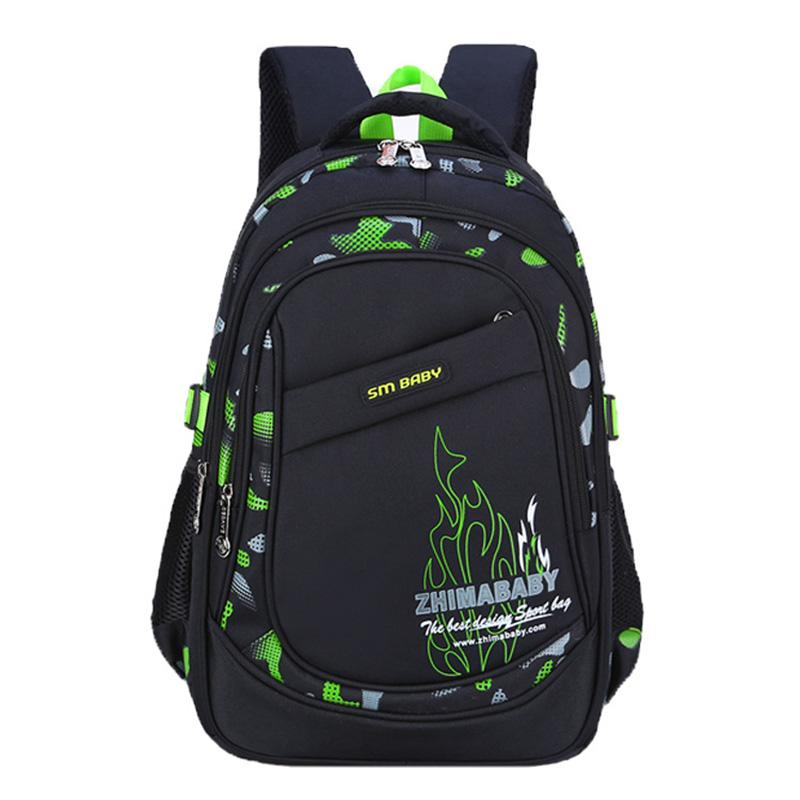 748455387b92 Waterproof Backpacks For Boys Primary School Backpack Fashion School Bag  Book Bag Breathable Printing Travel Large Capacity Designer Bags Hype Bags  From ...