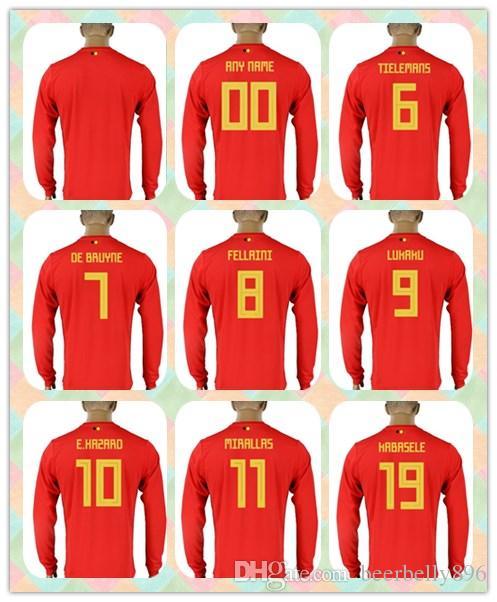reputable site d3e6c 0d0e8 belgium 9 lukaku red soccer country jersey