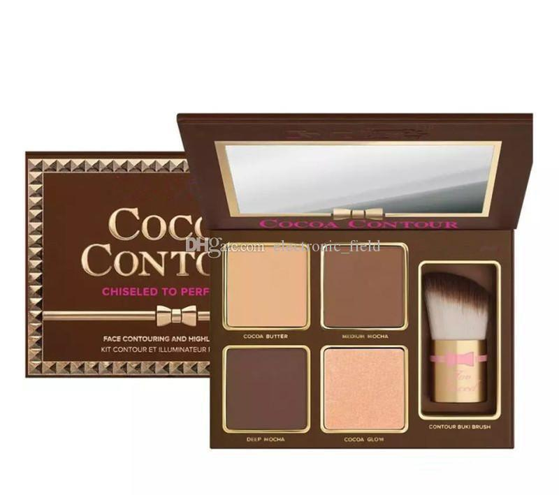 New Makeup COCOA Contour Kit Bronzers Highlighters Powder