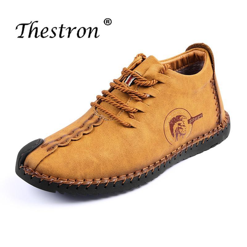 efa93a147c Compre 2018 Zapatos De Moda Para Hombre Altos Zapatos De Invierno Cálido  Tamaño Grande38 48 De Cuero De Los Hombres De Piel De Zapato Diseñador  Interior ...