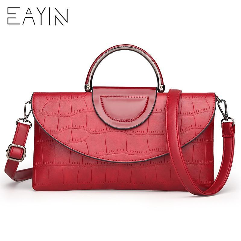 5fd42689c2a5c Acheter EAYIN Vintage Pochette Pour Femme Sac À Main De Mode ...