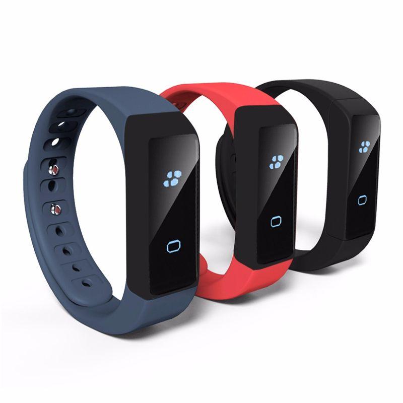 2018 I5 Plus Smart Bracelet Bluetooth 4.0 Waterproof Touch Screen Fitness Tracker Health Wristband Sleep Monitor Smart Watch
