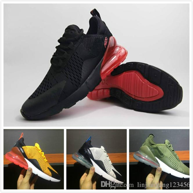 2018 New Men Flair Triple Black 270 Trainer Sports Running Shoes Women 270 outdoor Athletic Hiking Jogging Sneakers outlet nicekicks discount Inexpensive shopping discounts online many kinds of cheap price RG5H6R6H