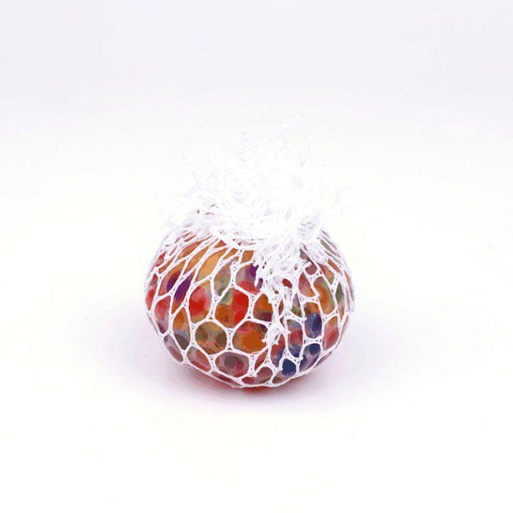 Novità Anti Stress Maglia Face Reliever Grape Ball Autismo Umore Spremere Sollievo Giocattolo Sano Divertente Gadget Vent Decompressione Giocattoli Regali HH7-824