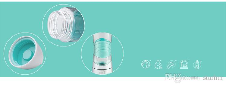 DIDI Hatırlatmak İçecek Su Şişesi Için LED Açık Spor Kupa Bardak Spay Nemlendirici ışık Gece Sos Acil Su Isıtıcısı WX9-232