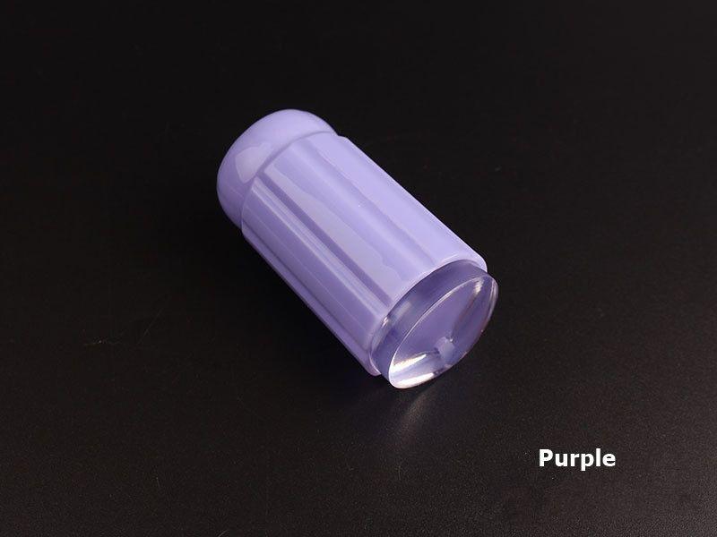 Новый Желе Силиконовый Nail Art Stamper с Скреперы Набор Ногтей Штамп Плиты Инструмент Маникюр DIY Nail Art Tool 9 Цветов