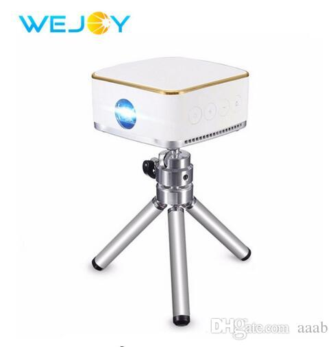 Wejoy Mini LED Projector DL-S8+ Android 7.1 System Pocket Portable Pico Mobile Phone Projectors DLP Beamer WiFi BT Home Theater