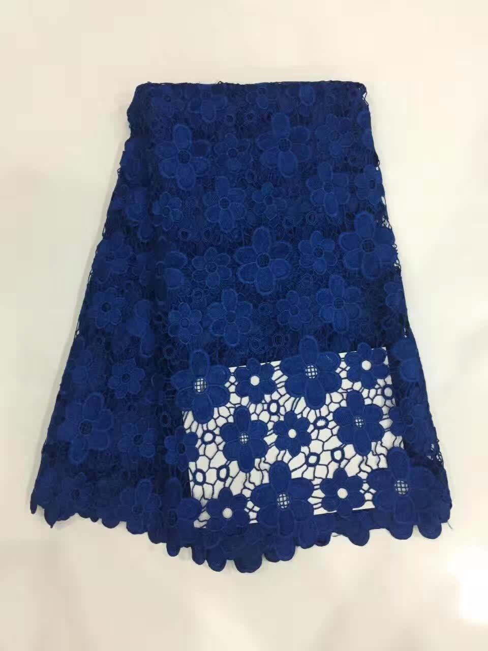 High Quality African Tulle Lace Fabric 2017 Nigerian Fabric Cheap African Women Lace Fabric For African Lace Material