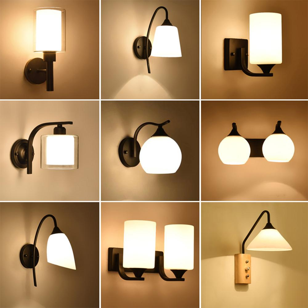 2019 Omeart Wall Lamp Vintage Bedside Reading 110v 220v Led E27 Luminaria Bedroom Lighting Contemporary Retro From Dard 47 92 Dhgate