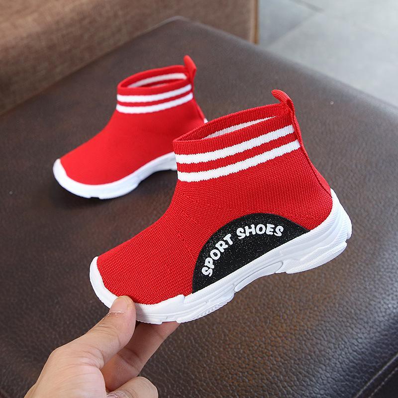 0cc7c3f5d83ce Acquista Scarpe Bambini Neonati Bambina Ragazza Stivali In Pelle Con  Cinturino Alla Caviglia Scarpe Sneakers Scarpe Elasticizzate Ad Alto  Sostegno Casual ...
