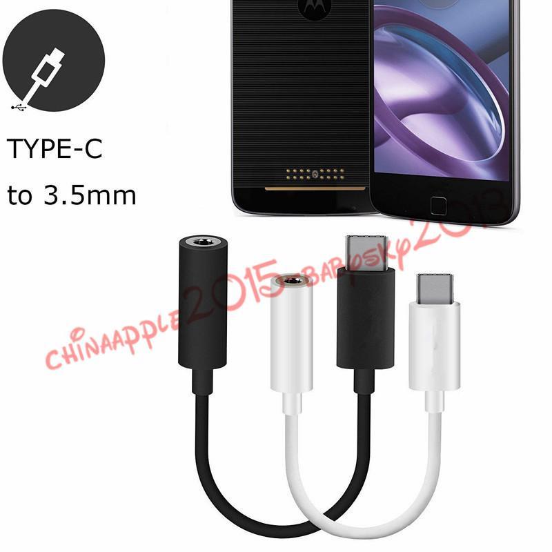 Adattatore audio di tipo C a Standard 3.5mm Femmina Audio Jacket Type C USB Nexus 5X 6P la galassia S8 htc lg g5 ecc cellulare