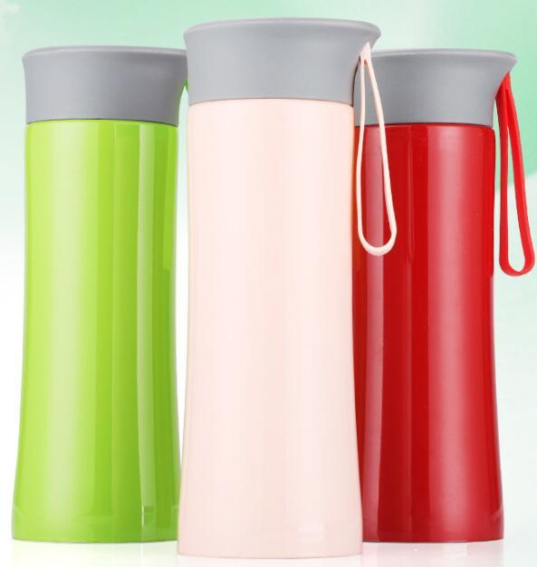 300ml 10.5oz Stainless Steel Tumbler Thermocup Coffee Mugs 300ml Thermos Fashion Insulation Water Bottle Travel Gift Mug Vacuum Flasks