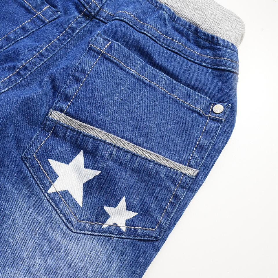 IPY Winter Boys Jeans Children Fashion Trousers Kids Casual Denim Trousers New Year Pants