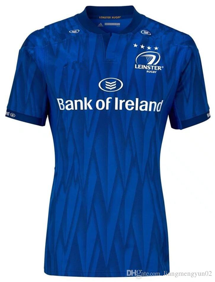 7e4085baf9a 2019 LEINSTER HOME JERSEY 2018 2019 LEINSTER Rugby Jerseys Ireland Rugby  League Shirt Jersey 18 19 Leinster Shirt Size S M L XL 3XL From  Liangmengyun02, ...
