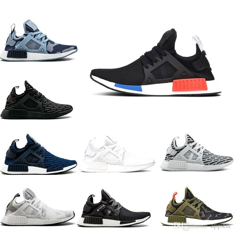 90c4c2b2d 2019 New NMD XR1 Running Shoes OG Zebra Mastermind Japan Stripe Black Olive  Green Black White Navy Camo Men Women Sports Shoes Size 36 45 From Appstar
