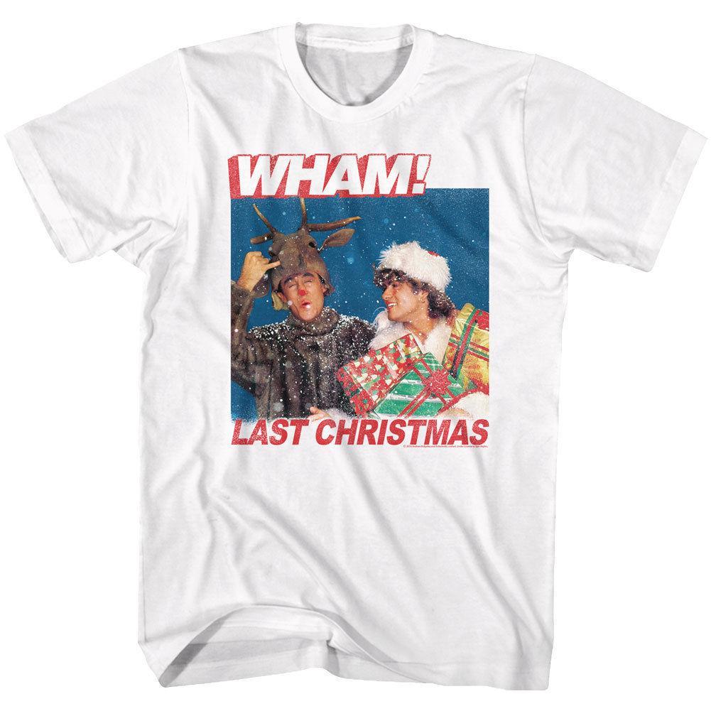 Großhandel Wham! Letzte Weihnachten Erwachsene T Shirt Popmusik Neue ...