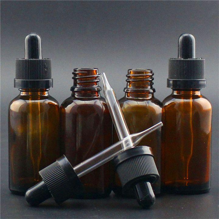 Amber 30 ml cam uçucu yağ şişesi ile CRC kap için yüksek mühür yağ, Eliquid ejuice vape silindir 30 ml damlalık şişe ücretsiz gemi DHL