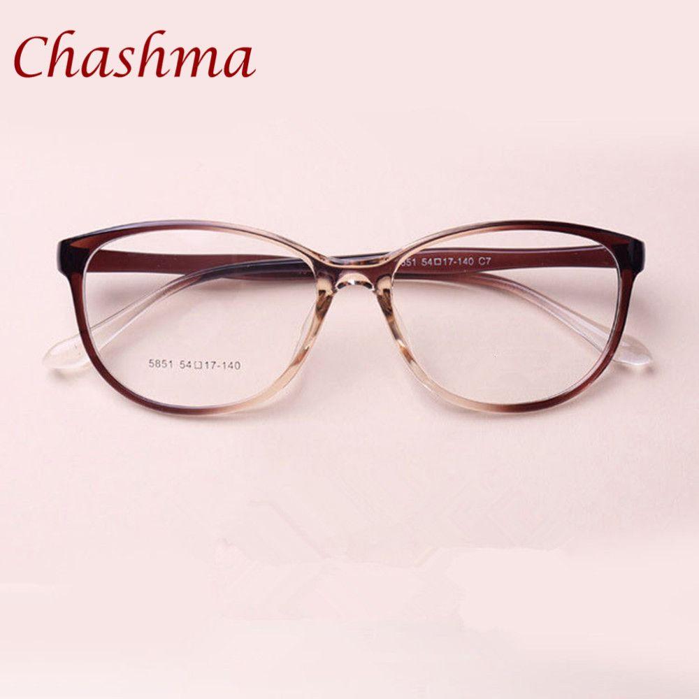 Großhandel Chashma Marke Tr 90 Katze Augen Schwarz Braun Brillen ...