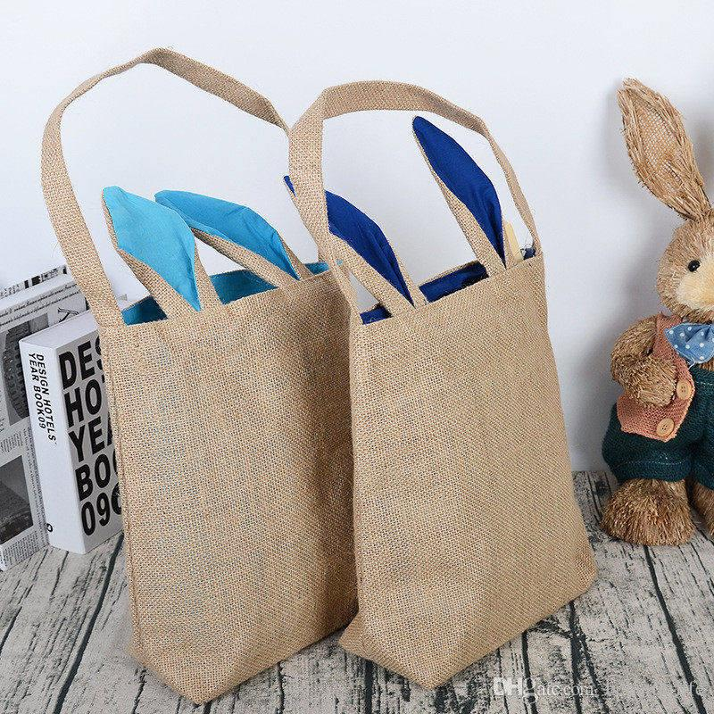 Wholesale easter gift bags creative rabbit ear shape jute bag wholesale easter gift bags creative rabbit ear shape jute bag large cotton bag canvas bag for dhl easter gift rabbit ear bag canvas bag online with negle Choice Image