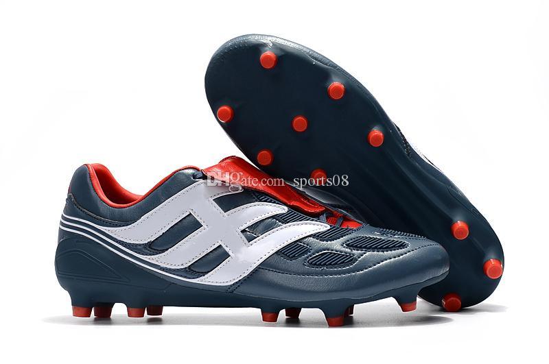 7dda12e84 New High Ankle Soccer Cleats Predator Precision TF IC FG Mens ...