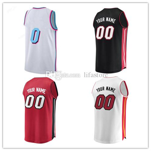 033bcbe8a ... discount discount men printed college 2 wayne ellington jersey miami  vice city edition basketball red black