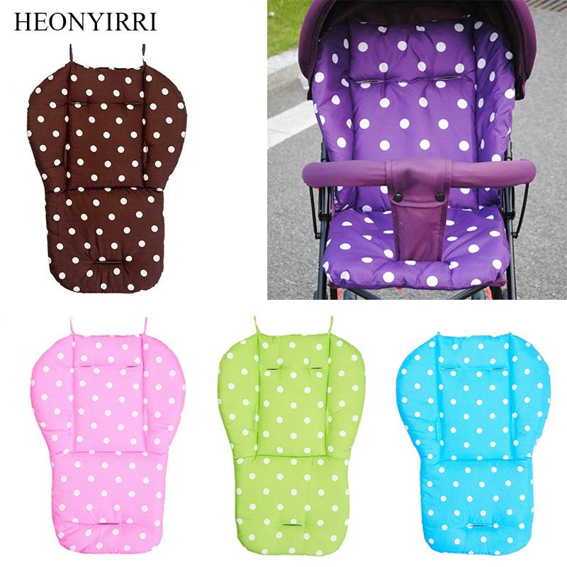 Baby Stroller Seat Cushion Pushchair High Chair Pram Soft Mattresses Toddler Infant Carriages Seat Pad Baby Car Accessories