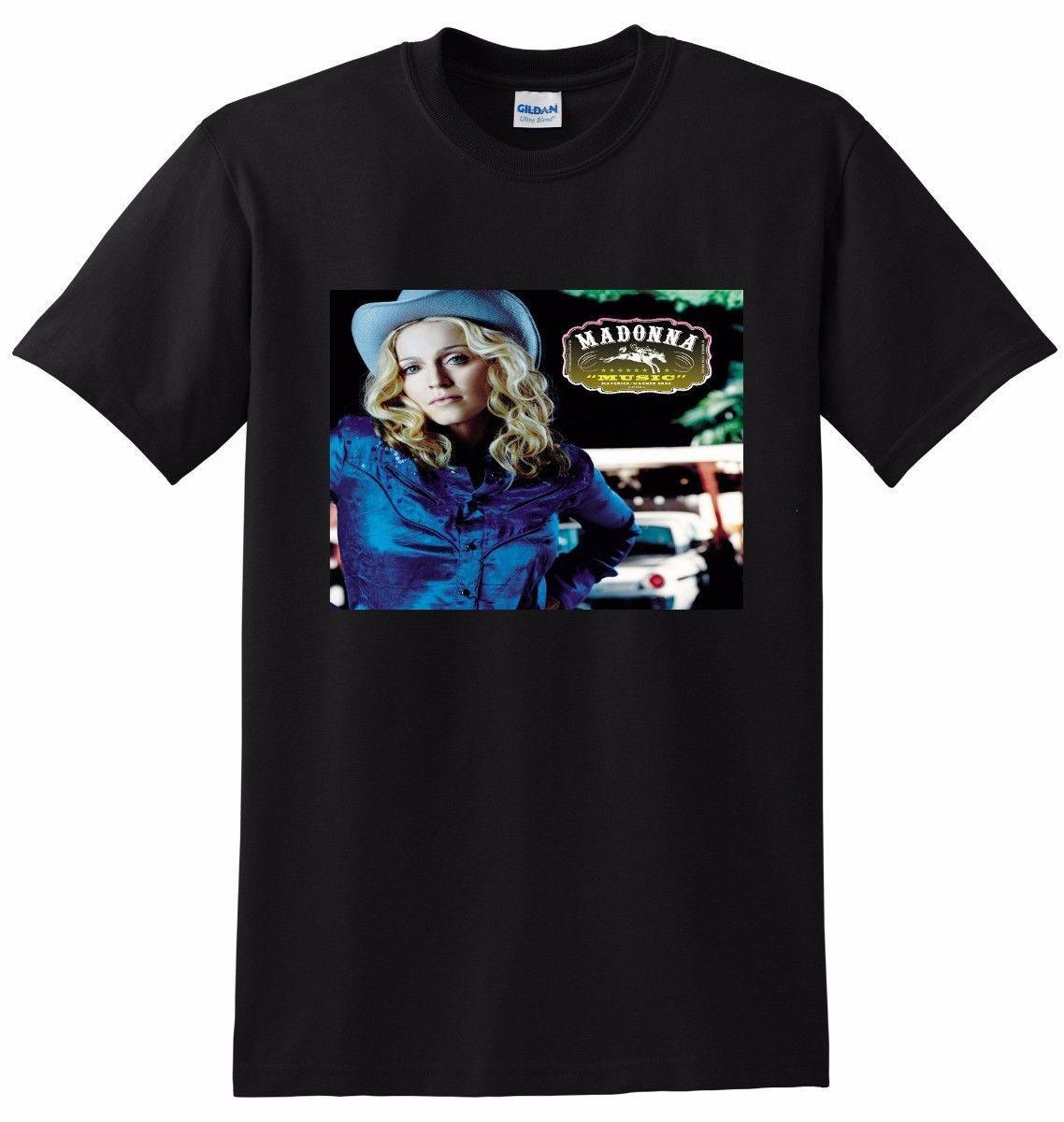 Madonna T Shirt Music Vinyl Cd Cover Tee Small Medium Large O Neck