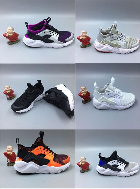 84b67cb2c9e Cheap Style Kids Air Huarache Sneakers Shoes For Boys Grils Authentic All  White Children S Trainers Huaraches Sport Running Shoes Size 28 35 Sports  Shoes ...