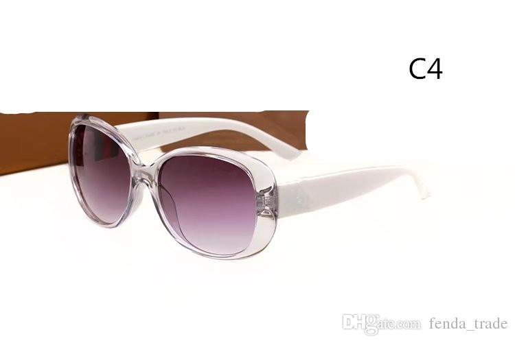 2018 Popüler tasarımcı güneş gözlüğü erkek kadın güneş gözlüğü yeni moda avant-garde tarzı uv koruyucu gözlük en kaliteli 3660 ADEDI = 10