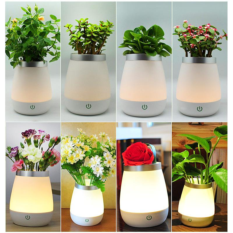 2019 Flowers Vase L& USB LED Atmosphere Light Novelty Bedside Night Lights Table Desk L& Gifts Christmas Kids Home Decoration From Hcfwjsw1314 ...  sc 1 st  DHgate.com : flower light vase - startupinsights.org