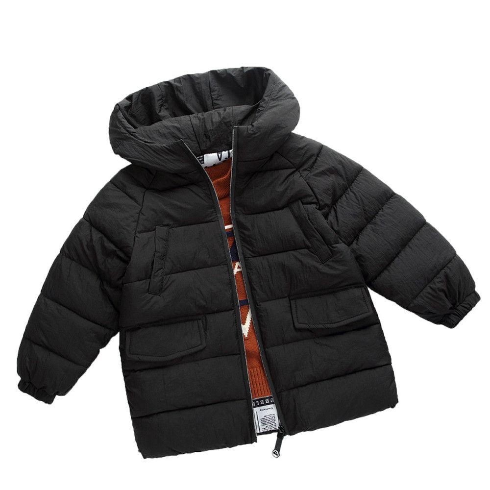 Compre Genuino MUQGEW Ropa Para Niños Moda Niños Abrigo Niños Niñas Abrigo  Grueso Acolchado Chaqueta De Invierno Ropa Ropa Para Niños  TF A  43.16 Del  ... b5ee1e92b020f