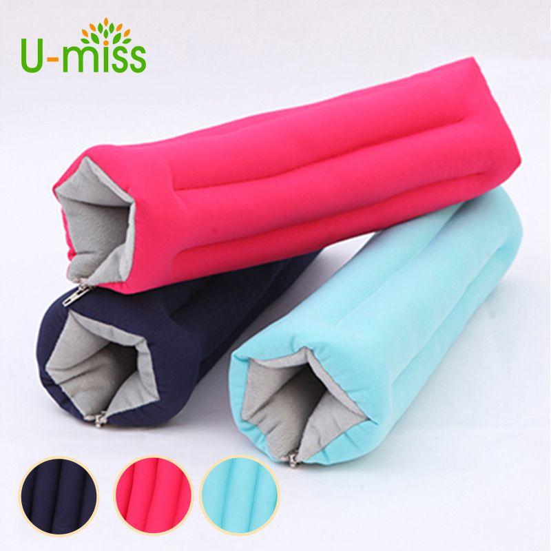 U Miss Rectangle Pillow Mini Comfortable Desk Arm Glove Pillow Flight Travel Cushion Sleep Innovative Office Power Nap