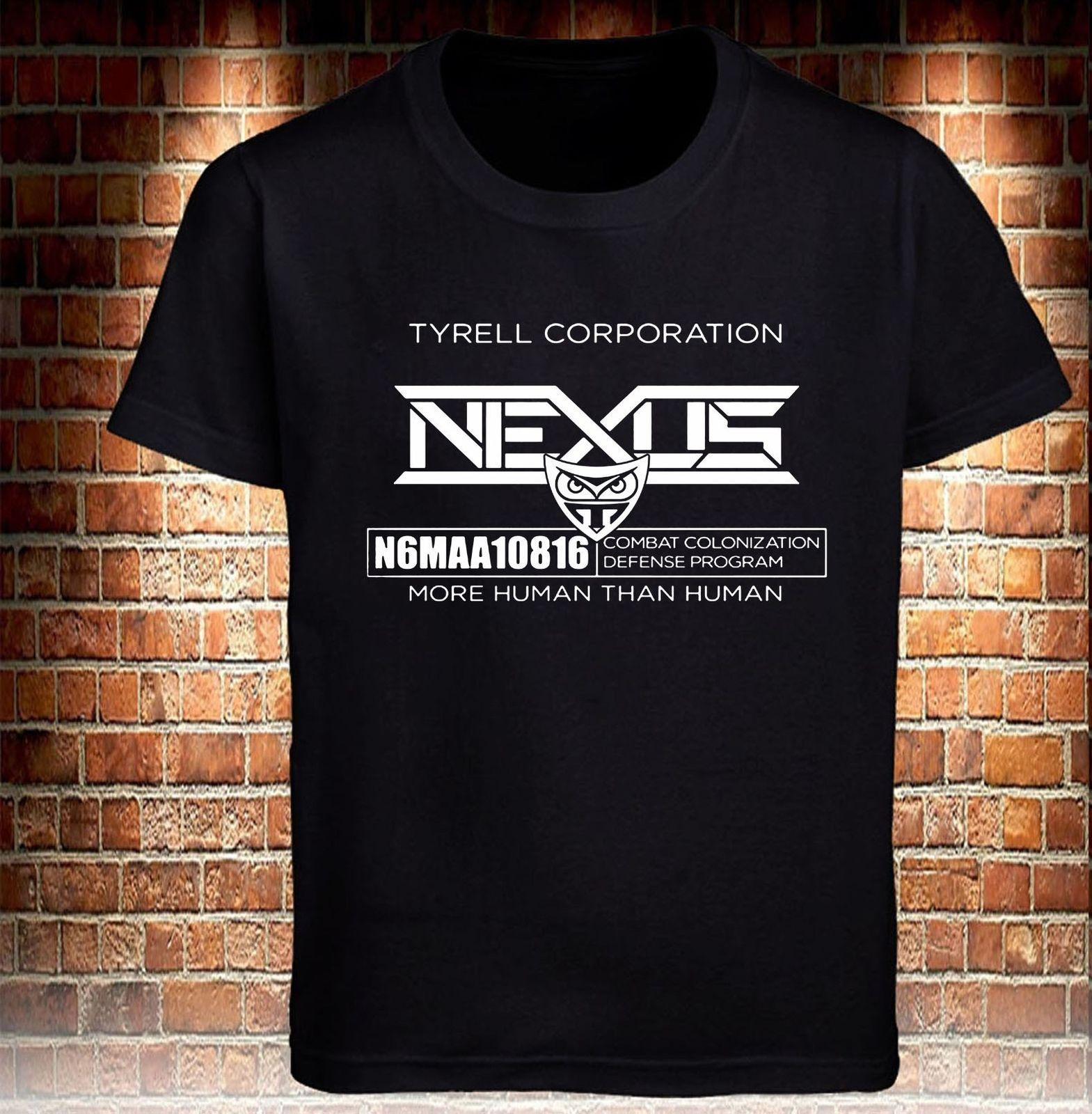 d6cb8537d7 Black T-shirt Blade Runner Nexus Tyrell Corp Men s Grey Tee Size S To 3xl  Cool Casual Pride T Shirt Men Unisex Fashion Tshirt