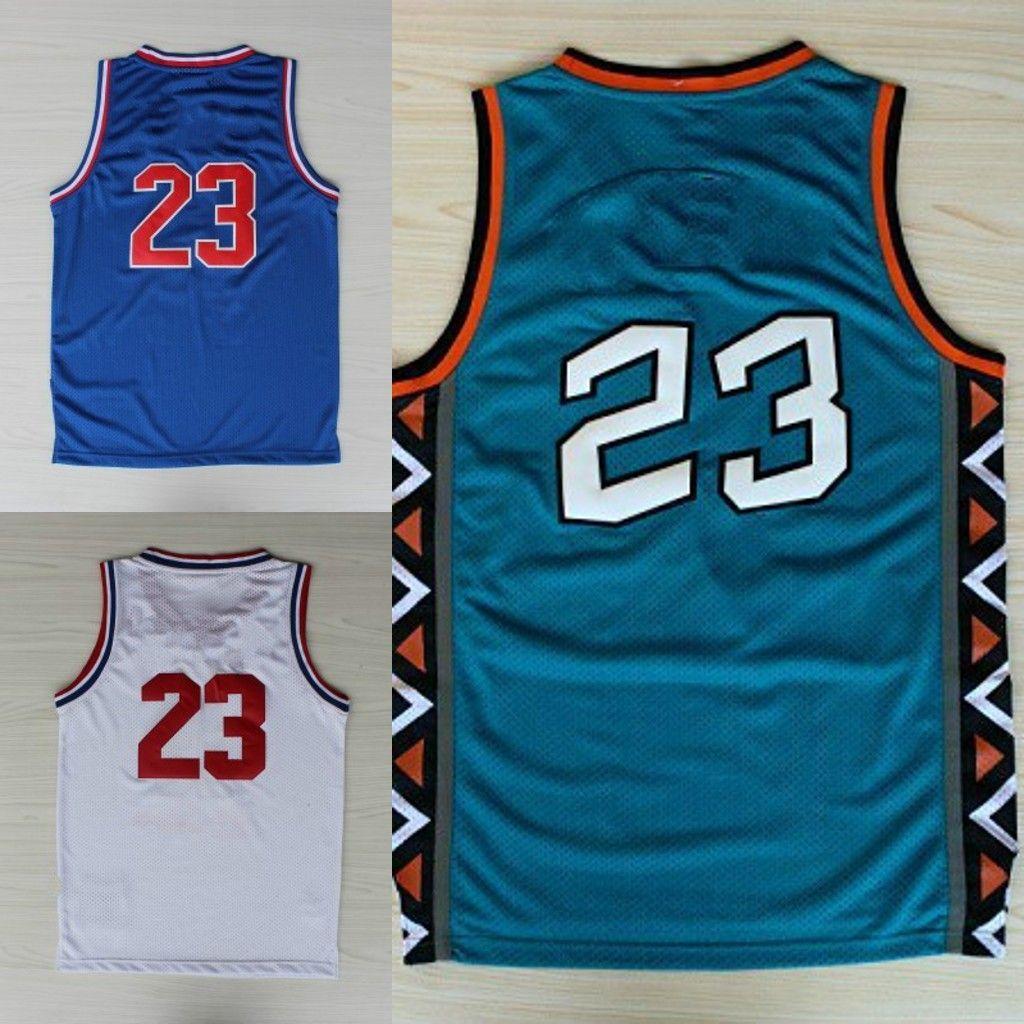 2a180438 ... 2018 92 93 all star 1996 23 mens basketball jersey cheap sale wholesale  men sports basketball