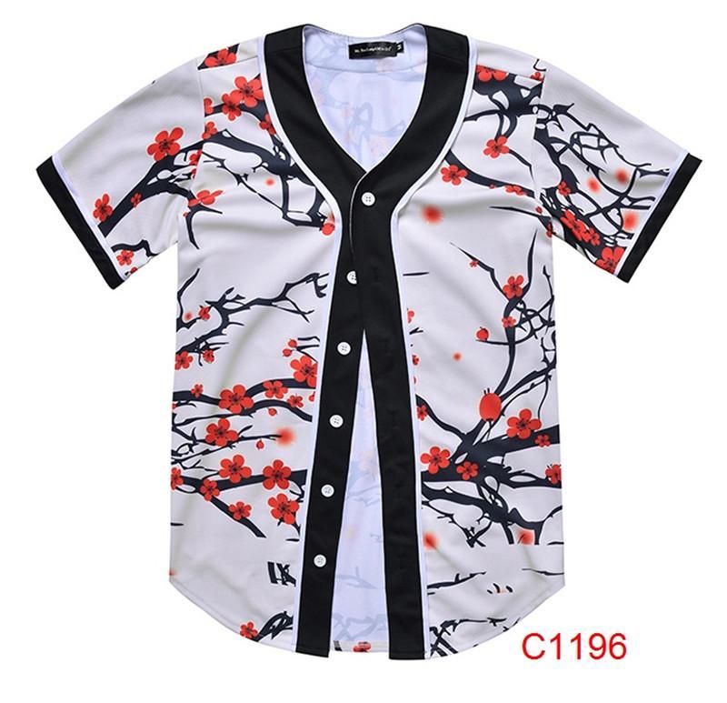7a0e6958 2019 Men Shirt 2018 Summer Short Sleeve Men'S Shirts Floral Pattern Print  Shirt Men Casual Camisa Social Plus Size 3XL From Dujotree, $11.9 |  DHgate.Com
