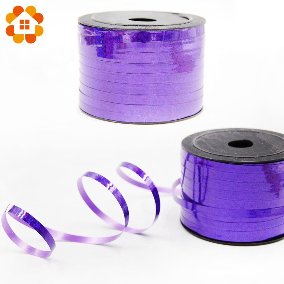 100Yard Colorful Balloon Ribbon Happy Birthday Party Decorations Wedding Birthday Christmas Party Balloons Accessories Supplies