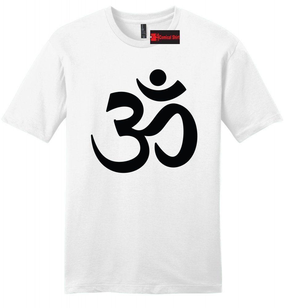 la moitié ca5d3 5b779 Acheter Om Hommes Doux T Shirt Paix Hindou Religion Indien ...