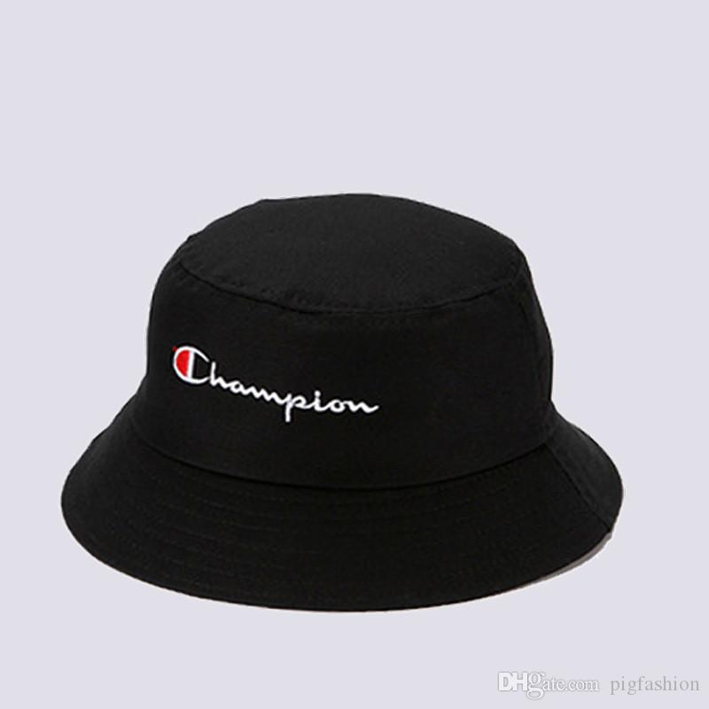 1986812f2a4 2019 C Letter Black And White Couple Hats Spring Summer New Sunshade ...