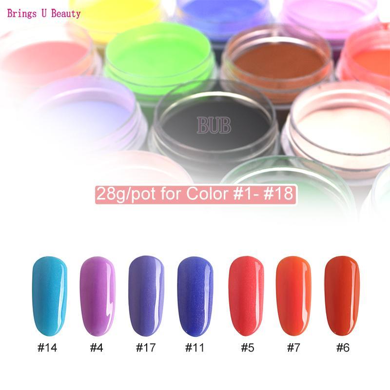 e3a79e6dc93 28g Box Nail Dipping Powder Colors Dip Powder Nails Starter Kit Liquid  System Base Top Activator