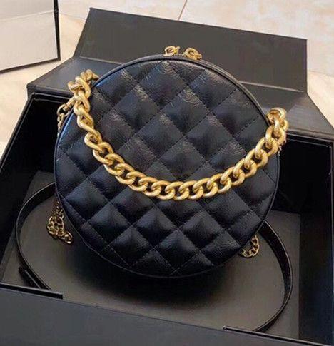9ca01f9f2f Classic Fashion Flap Bag Round Plaid Chain Bags Girls Cute Chain Bag ...