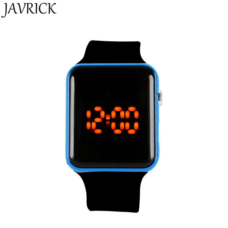 d1712d92b38c Compre JAVRICK Reloj LED De Silicona Unisex Reloj Deportivo Pulsera Digital  Relojes De Pulsera Reloj Negro A  33.26 Del Haihuanghe