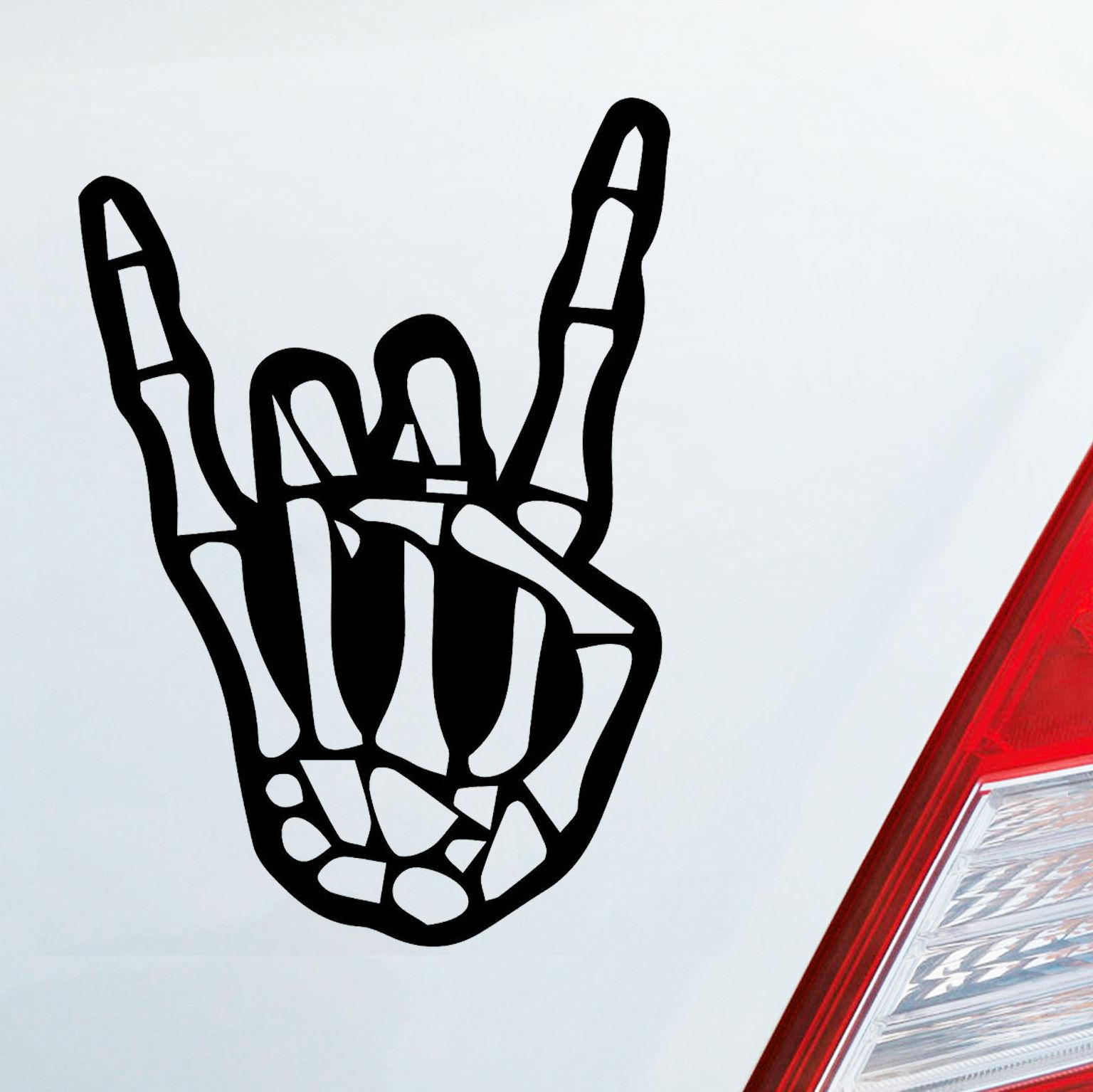 2019 1510cm autoaufkleber skelett heavy metal aufkleber sticker rock cool graphics car accessories vinyl decals from xymy777 3 42 dhgate com