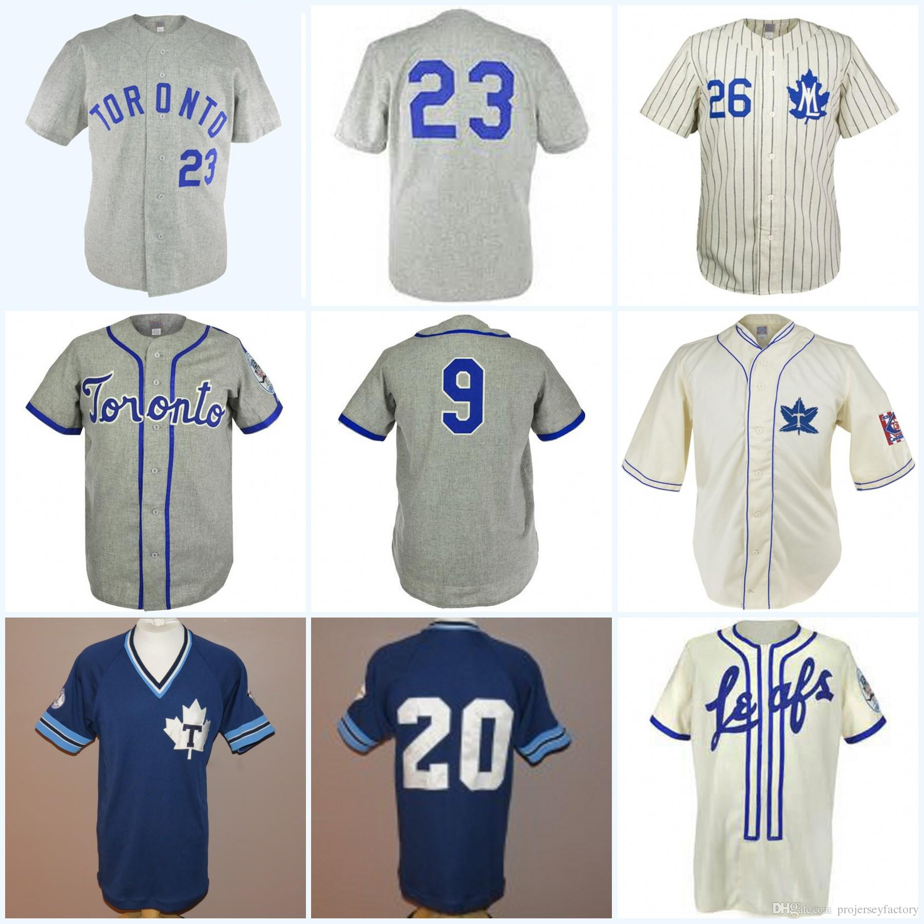 cae147eb4 2019 Toronto Maple Leafs 1939 Home Jersey Movie Baseball Jersey 100%  Stitched Name   Number   Logos For Mens Womens Youth From Projerseyfactory